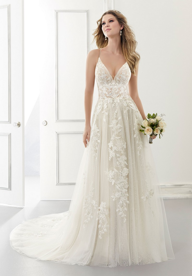 Ariana (Style 2181) wedding dress from the Morilee Modern Romance Spring 2021 Bridal Collection