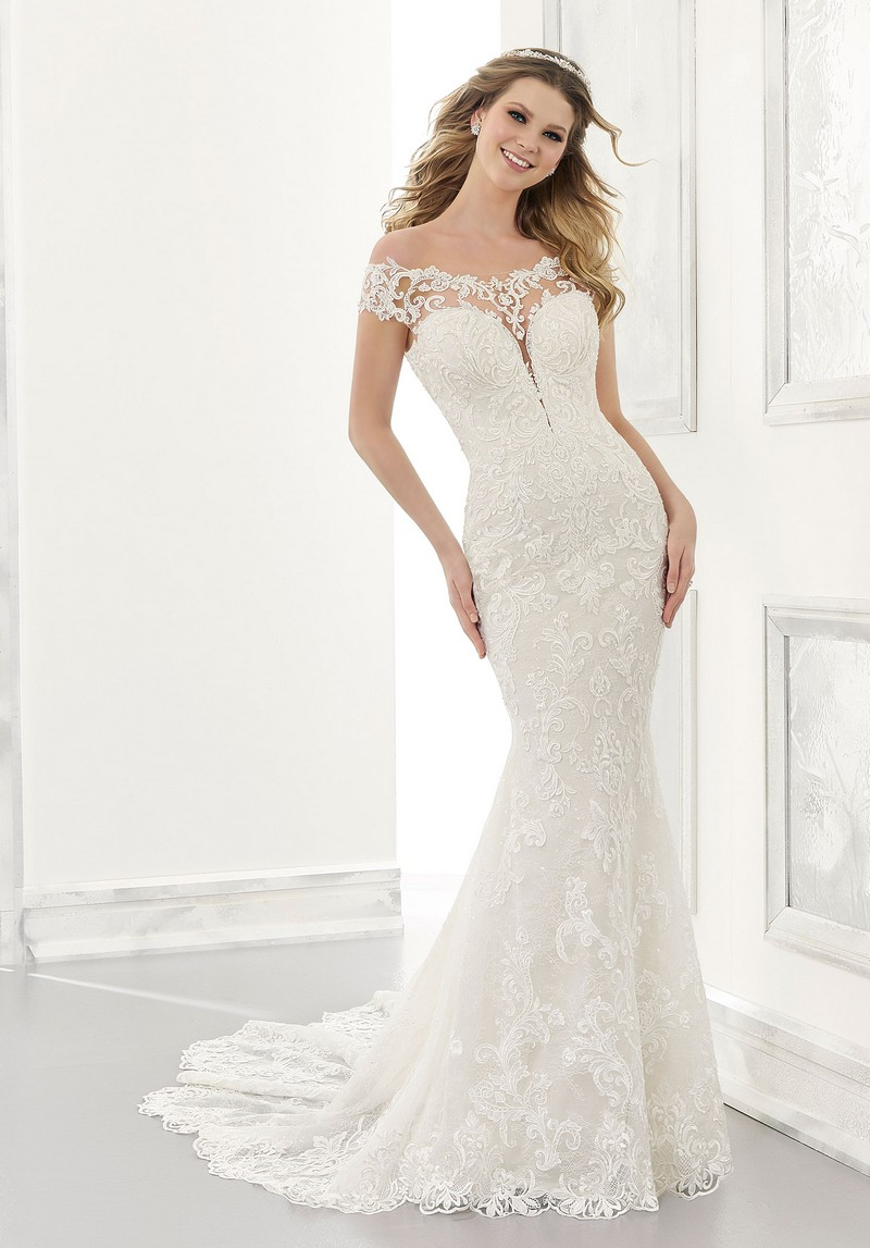 Ariel (Style 2177) wedding dress from the Morilee Modern Romance Spring 2021 Bridal Collection