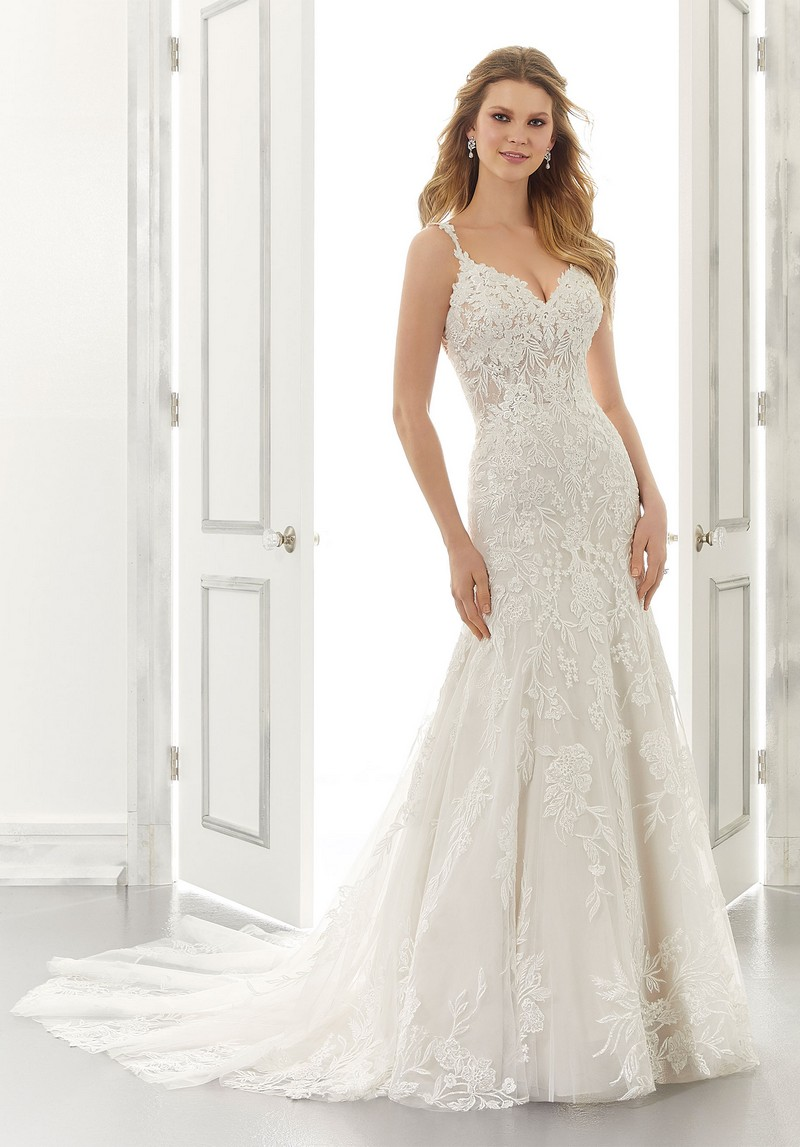 Aviva (Style 2194) wedding dress from the Morilee Modern Romance Spring 2021 Bridal Collection