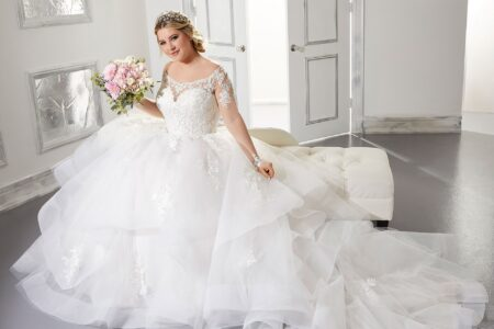 Wedding dress from the Morilee Julietta Spring 2021 Bridal Collection