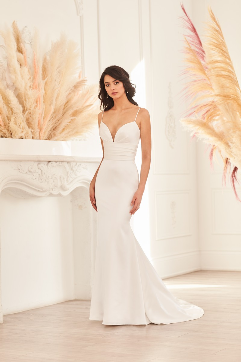 Style 4953 wedding dress from the Paloma Blanca Fall 2021 Bridal Collection