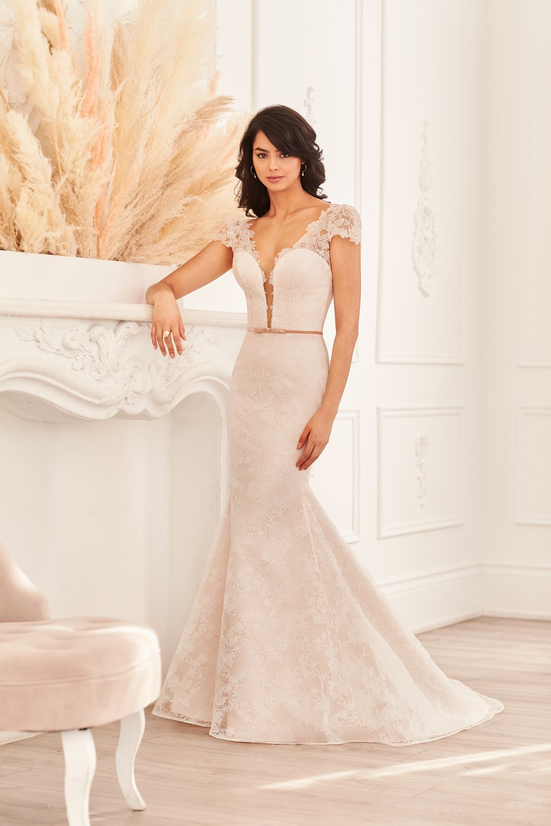 Style 4956 wedding dress from the Paloma Blanca Fall 2021 Bridal Collection