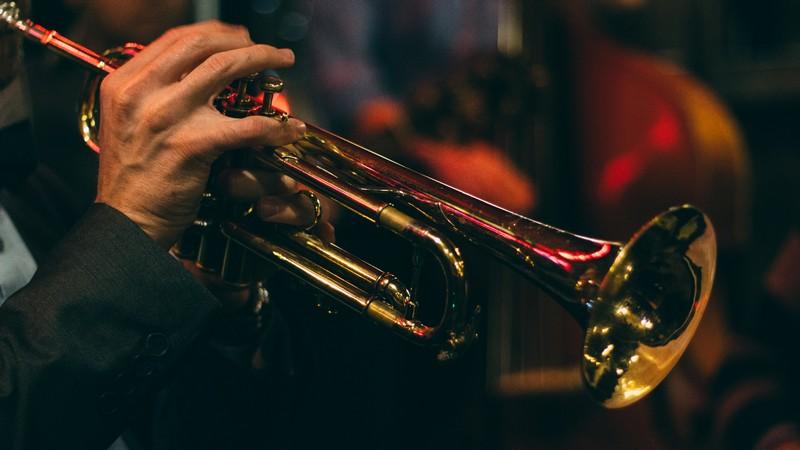 Jazz Band Trumpet Player